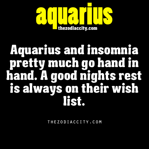 zodiaccity:  Zodiac Aquarius facts.