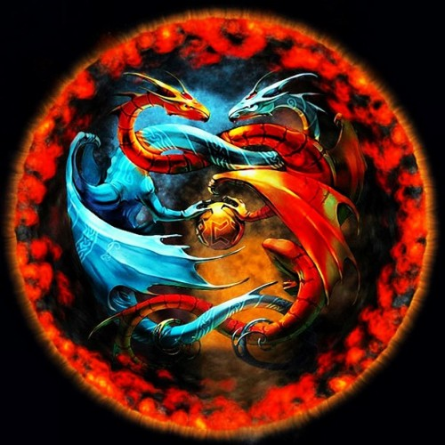si-mi-link-es-feo-y-el-tuyo:  #dragons #fire #ice #hd #fusion #lol