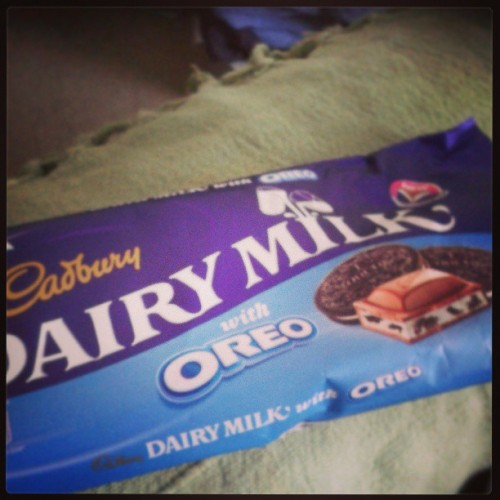 Best invention ever #chocolate #food #oreo
