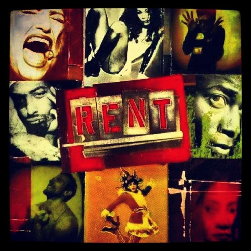 Forever one of my favorite things. #rent #broadway #nodaybuttoday