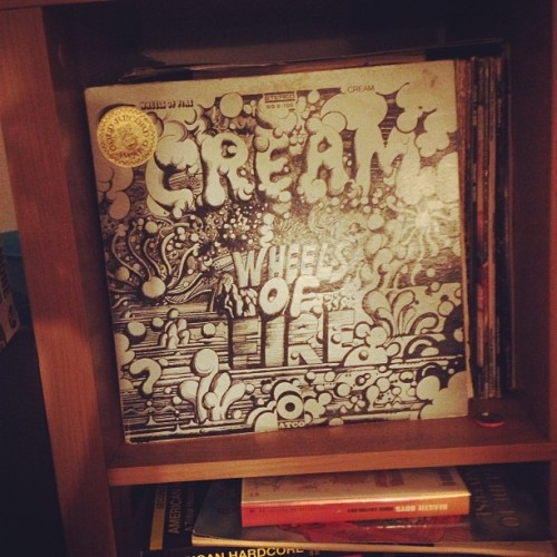LOL HOW MANY #PUNK POINTS DO I LOSE FOR OWNING #CREAM'S #WHEELSOFFIRE ON #VINYL?