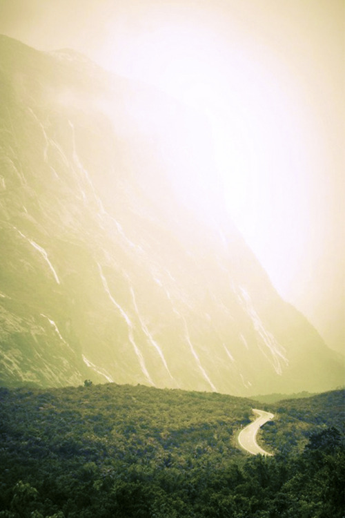 tearingdowndoors:  The Waterfalls to Milford | ~ Michael ~