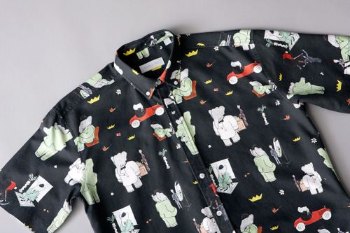 itwonlast:  Soulland x Babar  Novelty shirts are a must