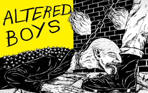 Altered Boys - Left Behind b/w Choosing Sides Listen || Buy