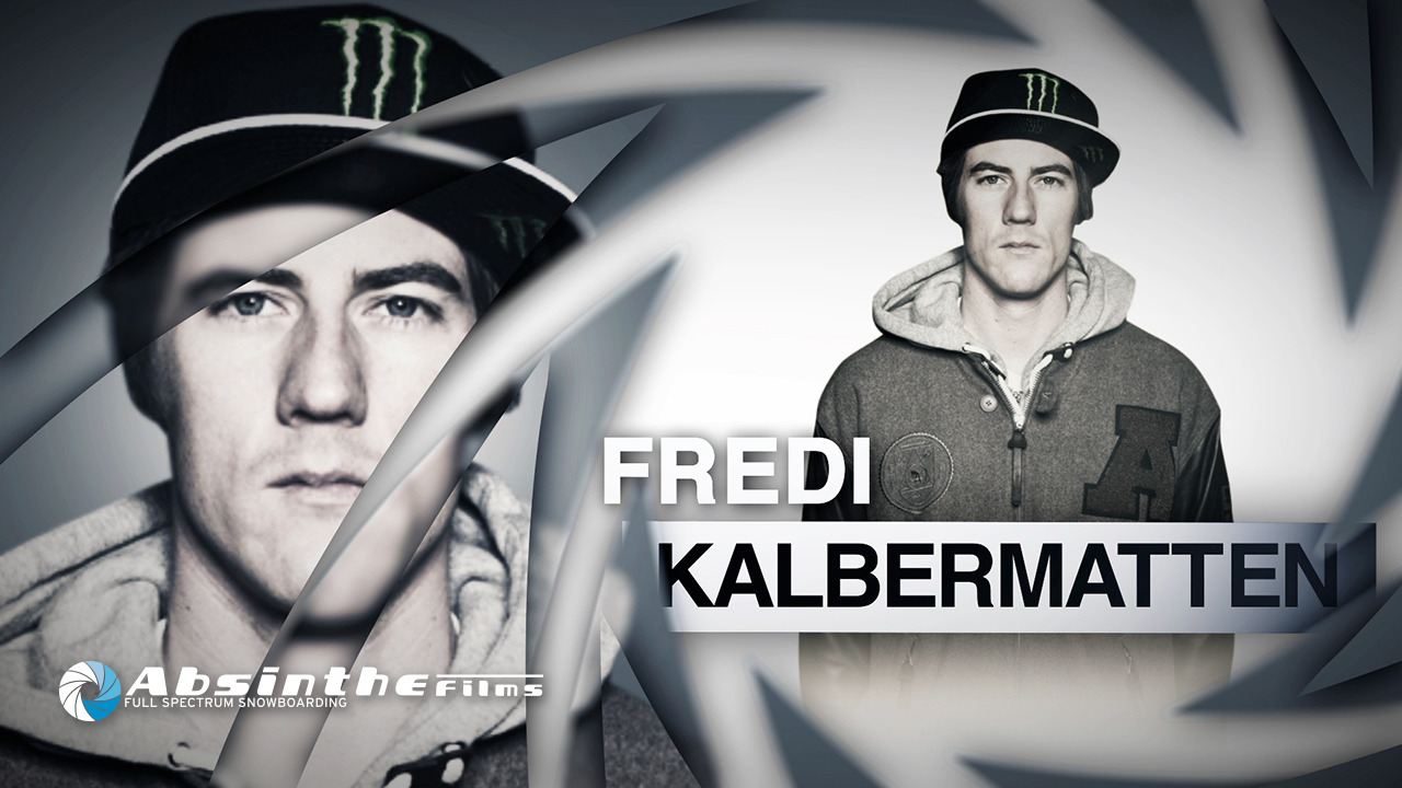 Click the photo and check out he latest Absinthe Films rider profile with Fredi Kalbermatten!