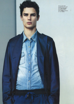 mensfashionworld:  Arthur Gosse by Jonathan Frantini for L'Optimum