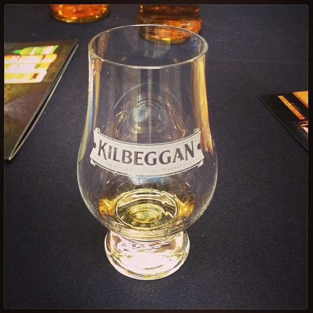 Stumbled upon an Irish Whisky tasting in the Admirals Club today!