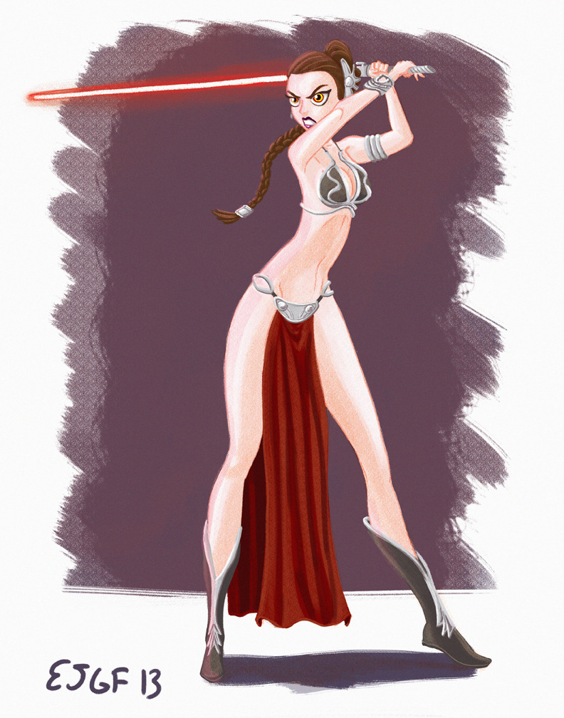 ejgf84:  Darth Leia, what do you think?