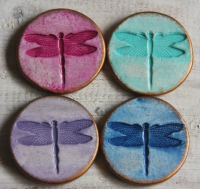 """Magical Dragonfly"" Magnet Set by rafya"