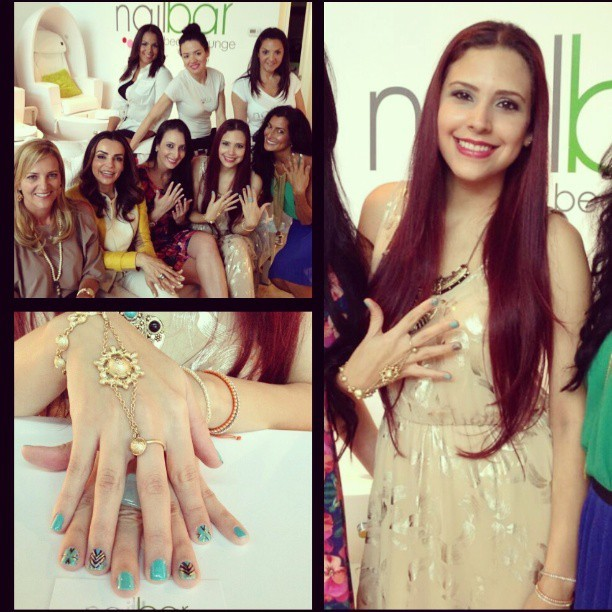 @NailBarMidtown @essie #beauty #nails segment w/ @lisapetrillo! @EssiePolish #WheresMyChauffear Dressed by #PrettyODD