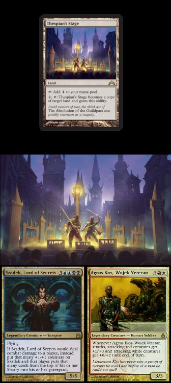 mtgfan:  Take a closer look at the scene depicted in The Absolution of the Guildpact