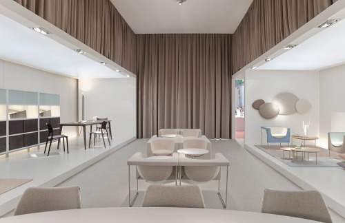 "The STUA stand in the Milano fair, with ""love your home"" concept.STUA Design Etc"
