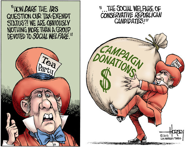 inothernews:  David Horsey / The Los Angeles Times