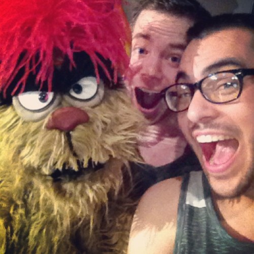 Trekkie Monster #gpoy #avenueq #broadway