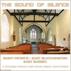 'A CD of the sounds of silence from inside a village church has sold out after becoming an unlikely hit. The 30-minute recording was originally created to help raise some extra funds for repairs to St Peter's Church in Seaford, East Sussex.' reports Mail Online. 'Church members believed the atmosphere in their small 12th century church was so unique that its peacefulness would appeal to a wider audience. So they left some recording equipment on inside the building for half-an-hour.  The only sounds that can be heard on the CD are the odd squeaking of the wooden pews, some footsteps and the distant hum of passing traffic. After selling out of the CD during a recent open day the church has now taken orders for it from as far afield as Germany, Austria and Ghana.' via The Guardian
