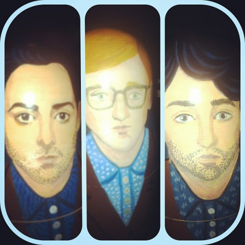 We've got some pretty amazing fans. This is a Delphic Russian doll !!!! #postdancers http://rtrf.uz/10rC7OL