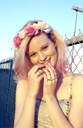 urbanoutfitters:  Pretty in Pink (hair)! Photography by Kathy Lo