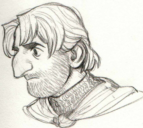 I DID THIS BOROMIR SKETCH AFTER FINISHING LORD OF THE RINGS AND SORT OF GETTING MY OWN BOOK-IMAGE OF HIM BECAUSE boromiiiirrrrrr i meant to color in his hair more darkly but i suppose i'll do that on the computer some time in the future