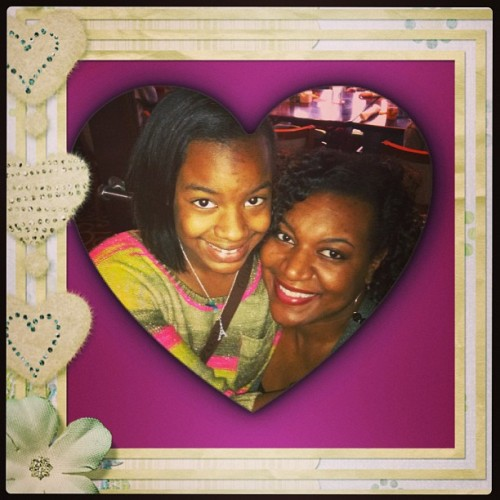 My Wife and Daughter…my Girls are Beautiful  (at Pappadeaux Seafood Kitchen)