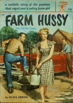 countryandwestern:  mudwerks:  there is NO hussy like Farm hussy…  Sylvia Erskine is single-handedly setting women's rights back 60 years. Not that I'm complaining.