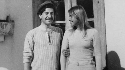 visionorawakingdream:  Leonard Cohen and Marianne Ihlen on the Greek island of Hydra.
