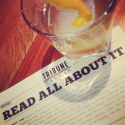 Front Page (at Tribune Tavern)