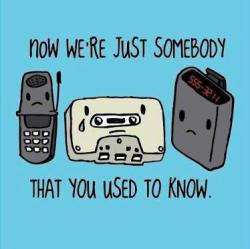 old things you used to know