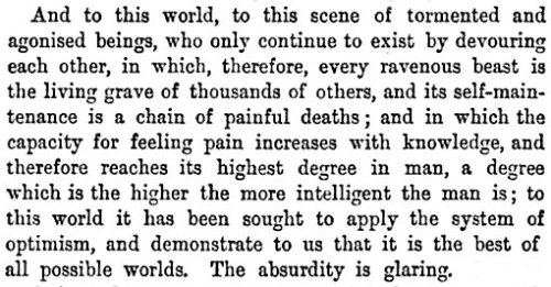 chamanka:  Arthur Schopenhauer. The World as Will and Idea.