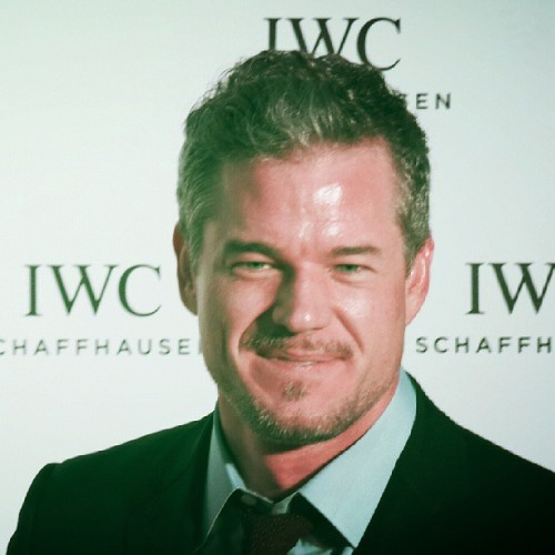 Eric dane red carpet #iwccannes2013 #cannes2013 #greysanatomy star #love  @iwc