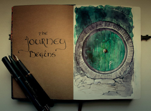 markedasinfernal:  The Journey Begins, by kinko-white