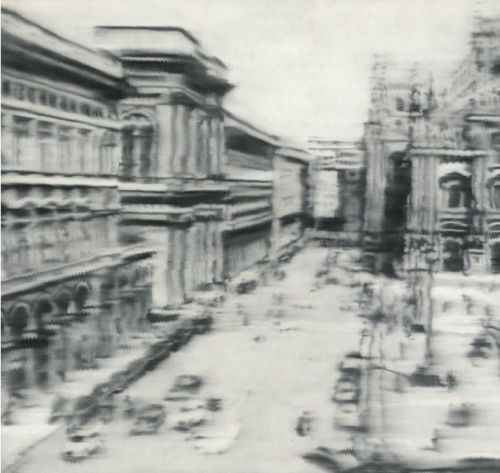 Domplatz, Mailand, the 1968 photo-realist painting by Gerhard Richter sold by Sotheby's for $31,7 million. May 14th 2013 auction