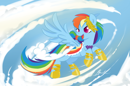 Rainbow Dash Grand Galloping Gala dress revisited Pinkie Pie version  Fluttershy version