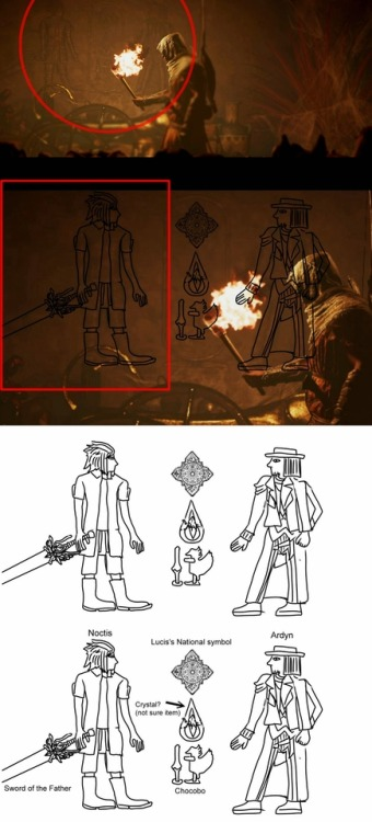 Three Easter Eggs of Final Fantasy XV x Assassin's Creed: Origins in their collaboration