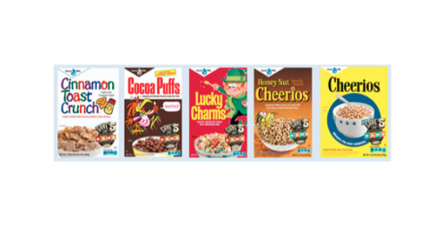 "How we design our retro cereal boxes by Derek Wallen  Editor's note: This month, our retro packaging is back on five cereals at Target stores across the U.S. It's our sixth year of bringing back our retro cereals (we wrote about the 2011 boxes in this post). This time around, we've also partnered with Hasbro to celebrate its vintage games. We asked Derek Wallen, art director for agency Curb Crowser that designed the boxes, to write about the experience.      I think it is human nature to have a soft spot for nostalgia. My friends are constantly sending me emails with titles like ""25 Ways You Know You Were a '90s Kid"" or ""Child Celebrities, Then and Now"". It brings a smile to people's faces when they see something from their childhood, bringing back memories of a ""simpler time"" (any time before now always seemed simpler no?) I unfortunately wasn't old enough to remember these vintage cereal boxes. These vintage box designs were pulled from the 1940's to 1970s, the oldest being Cheerios from 1944. But I am sure the ones who do remember will enjoy the throwback. What are some vintage items from your childhood?"