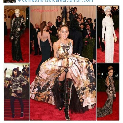 BEST DRESSED at MET