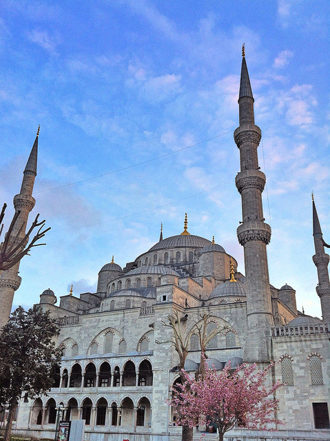 Blue Mosque, Istanbul by paveldobrovsky on Flickr.