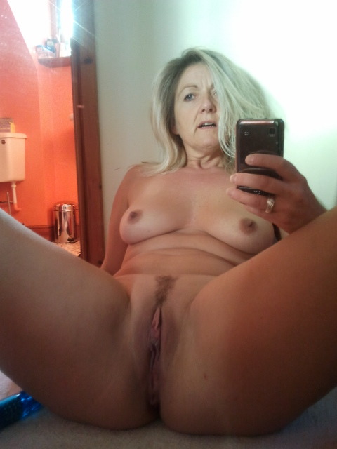 Mature milf wife selfie