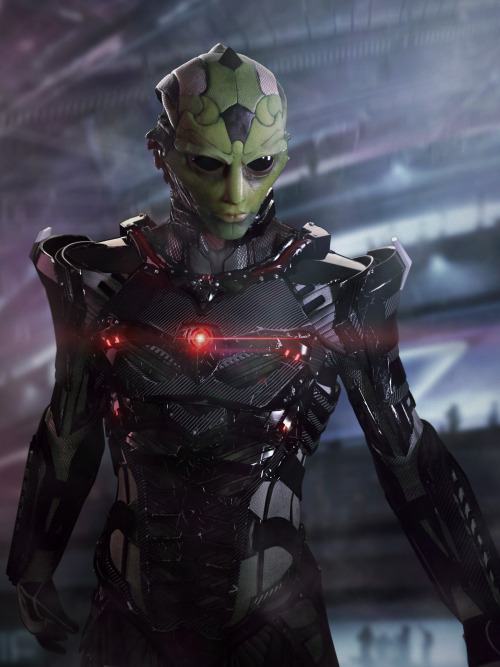 awesomeinblue:  Thane Krios By mosena, aka Eduardo Mosena (more here)