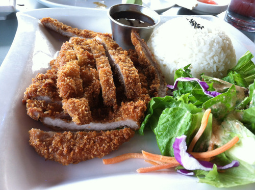 Pork Katsu from Kyoto Japanese Steakhouse in Bellingham, WA  Submitted by: truefoodie.tumblr.com