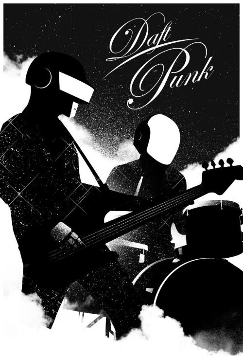 geek-art:  Geek-Art.net : Rediscovery : an artshow tribute to Daft Punk @Gauntlet Gallery Art by Justin Van Genderen