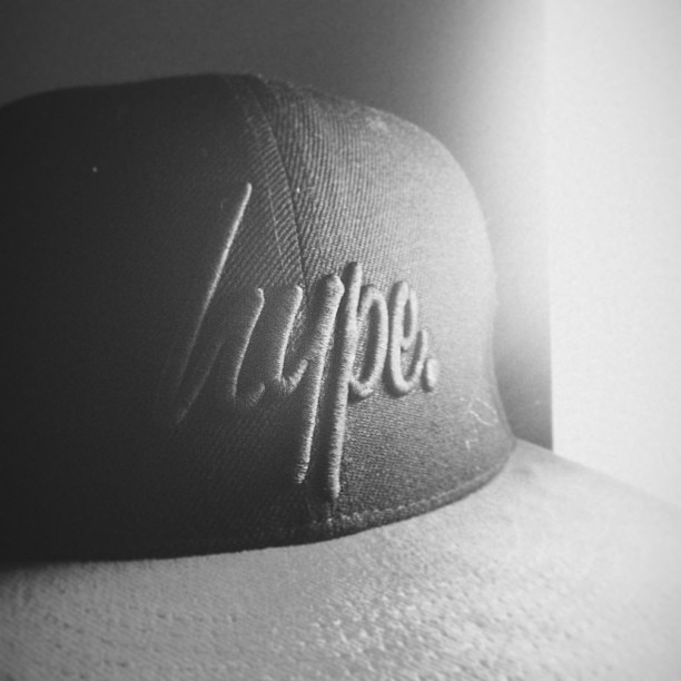 youngbastard666:  #justhype My Hype Clothing Custom 1/1 Black on Black Logo Snapback