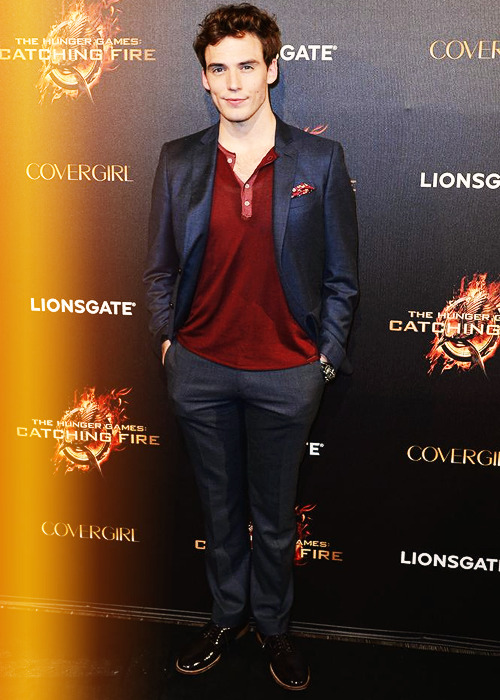 Sam Claflin at the 'The Hunger Games: Catching Fire' Cannes Film Festival Party (May 18)