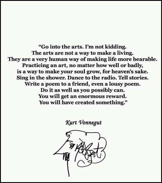 good:  Happy Friday, ya'll! azspot:   Kurt Vonnegut Fans