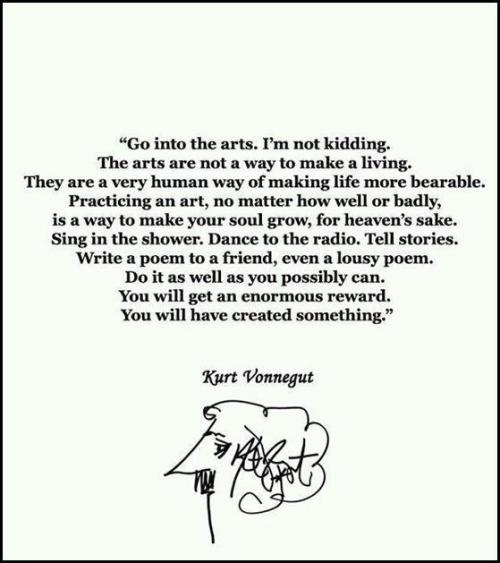 via @good:  Happy Friday, ya'll! azspot:   Kurt Vonnegut Fans