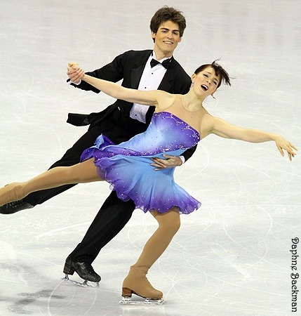 Lauren Corry and Alexander Lorello skating the Golden Waltz at the 2010 US National Championships.