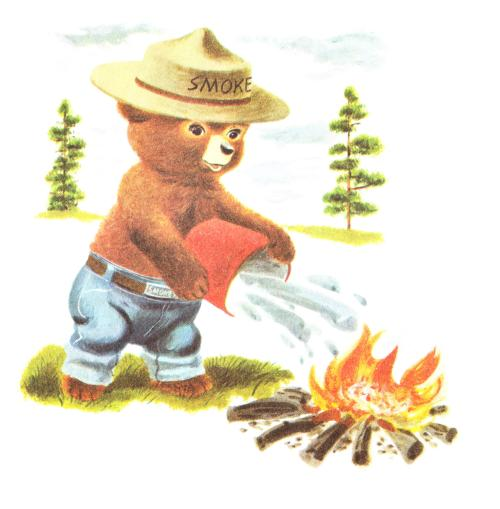 parliamentinspiration:  Smokey the Bear