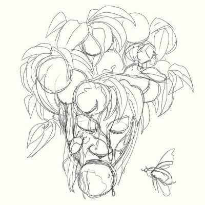 June Bug Sketch Peaches Summer Amp June Bugs