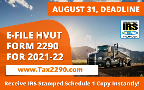 #Form2290 #HVUT returns can be electronically reported with the IRS at @tax2290. 2290 efiling ensures you receive the IRS watermarked Schedule 1 Proof of Payment. Easy steps, Quick Process, Nominal Pricing, Easy Records Keeping, Digital and Safe.@tax2290 @thinktradeinc @2290efile @2290tax @2290tax