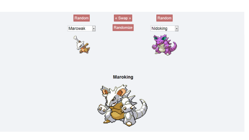 fuck-yeahpokemon:  Maroking is the result of the mating of a Nidoking and a Marowak. With both parent pokemon being ground-types, the offspring does not exhibit poison-type capabilities and remains a ground-type pokemon. It does, however, exhibit superior ground-type capabilities. For example, it's Earthquake attack can cause damage to a city comparable to that of an atomic bomb.