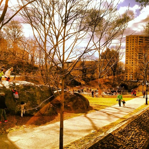 #Spring In The City! #NY #CentralPark (at Central Park - 110th St Playground)